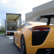 First Lexus LFA with Nürburgring Package Delivered in Europe