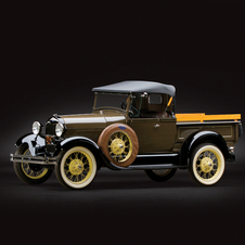 Ford Model A Open Cab Pickup