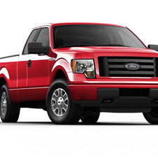 Ford F-Series 126-in. WB STX Styleside