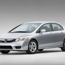 Honda Civic LX-S 5-Spd MT