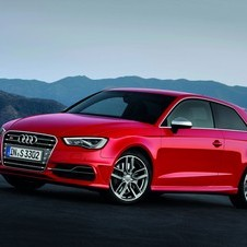 Audi built a brand new 2.0-liter engine for the new S3 with 300hp.