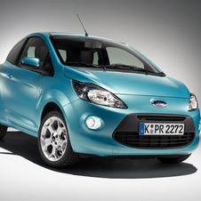 The next generation Ka will ride on the previous generation Fiesta platform