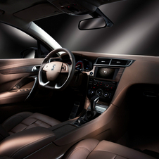 The interior is packed with luxury technology