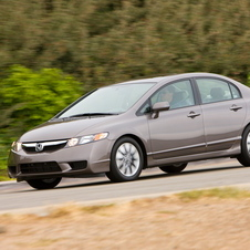 Honda Civic DX-VP 5-Spd AT