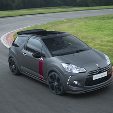 The DS3 Racing Cabrio is the same as the standard version with the exception of the top