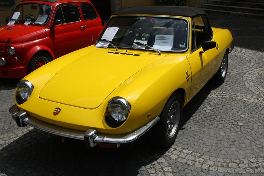 Fiat 850 sport spider 11 photos et 60 sp cifications - Fiat 850 coupe sport a vendre ...