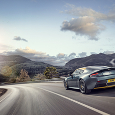The car was developed and fine-tuned at Aston Martin's Test Centre at Nürburgring's Nordschleife.