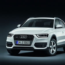 Similar in size to the smaller Audi Q3 Crossover...
