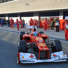 Fernando Alonso Sets Fastest Time in Final Day of Testing at Jerez