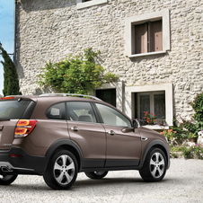 The Chevrolet Captiva will get an updated rear with new taillights