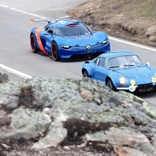 The Alpine/Caterham is due late next year