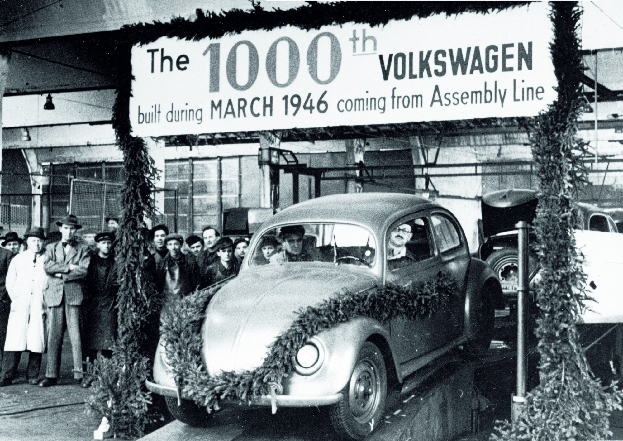 4th: Volkswagen Beetle 1946