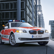 BMW also builds paramedic vehicle based on the 5-Series