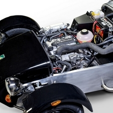 Caterham will use a three-cylinder turbocharged Suzuki engine and Suzuki five-speed transmission