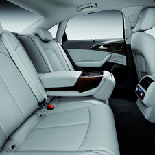 O interior do Audi A6L E-tron