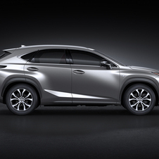 Lexus NX 300h Luxury AWD