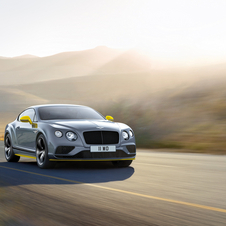 The Continental GT Speed is even more exclusive and more powerful