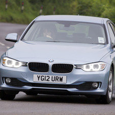 The 320d Efficient Dynamics has won What Car?'s Green Car of the Year Award