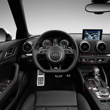 The interior also gets a sportier look
