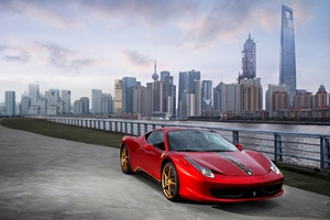 Ferrari 458 Italia 20th Anniversary in China