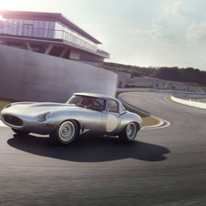 The new E-Type Lightweight will be sold as classic competition vehicles and they will may all be homologated by FIA