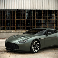 Aston Martin Shows First Production V12 Zagato at Kuwait Concours D'Elegance