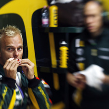 Kovalainen has driven for Caterham for three seasons