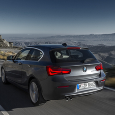 The new 1 Series gets a new range of diesel and petrol engines