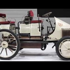 The first hybrid car