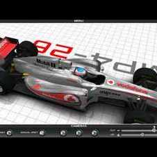 McLaren 2011 F1 Mp4-26 VodaFone REVEAL 3D Render [HD]