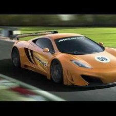 McLaren previews MP4-12C GT3 racer