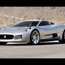Jaguar to build C-X75 supercar in 2013