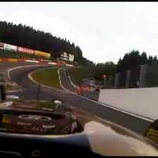 Bruno Senna On Board R30 during WSR at Spa Francorchamps
