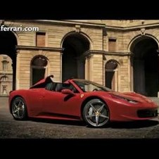 Ferrari 458 Spider (Commercial)