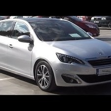 Peugeot 308 Allure 1.6 e-HDI 115 BVM6 Second Generation (2013-) Exterior and Interior in Full HD