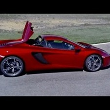 McLaren MP4-12C Spider - The Trailer