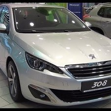 Peugeot 308 Allure 1.6 125 BVM6 THP Second Generation (2013-) Exterior and Interior in Full HD 3D