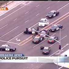 Crazy Orange County Police Pursuit