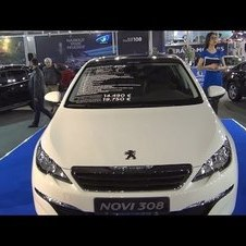 Peugeot 308 Active 1.6 HDi (2014) Exterior and Interior in 3D 4K UHD