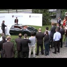 Presentation of the Arrinera supercar for investors - 2011.06.09