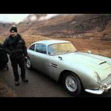Bond's DB5 is back in SKYFALL