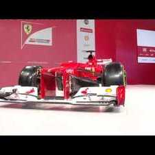 F1 2012 - Ferrari F2012 launch - The car in details